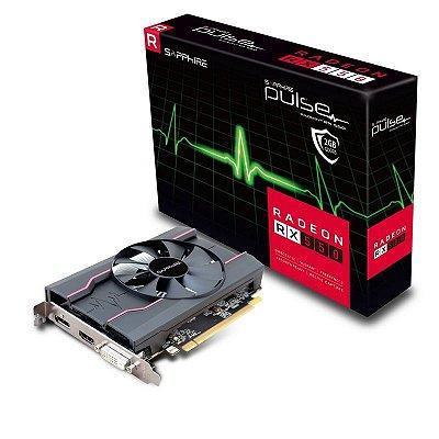 PLACA DE VÍDEO RX 550 2GB DDR5 128BITS SAPPHIRE