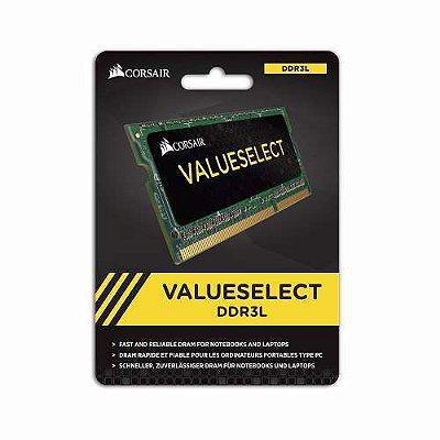 MEMÓRIA 8GB DDR3L 1600MHZ CORSAIR VALUE