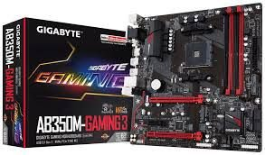 PLACA MÃE AB350M GAMING3 SOCKET AM4 GIGABYTE