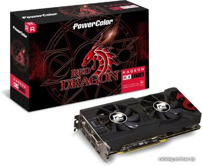 PLACA DE VÍDEO RX 570 4GB DDR5 256BITS POWER COLOR