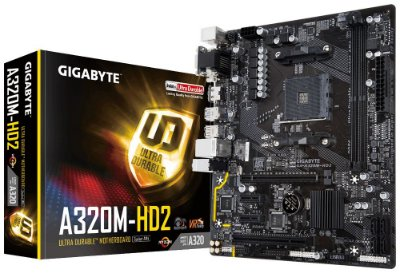 PLACA MÃE A320M-HD2 SOCKET AM4 GIGABYTE