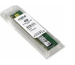 MEMÓRIA 4GB DDR4 2400MHZ CRUCIAL