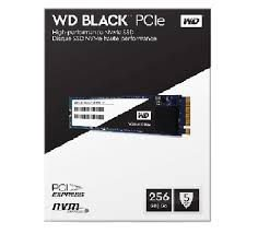 SSD 256GB M.2 WD BLACK - 2.050MB/S