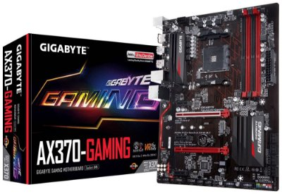 PLACA MÃE AX370-GAMING  SOCKET AM4 GIGABYTE