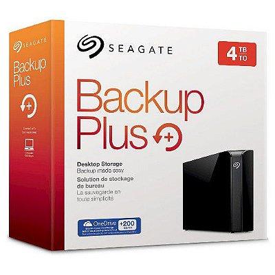 HD EXTERNO SEAGATE BACKUP PLUS 4TB USB 3.0 - MAC