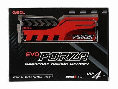 MEMÓRIA 2X8GB DDR4 2400MHZ GEIL EVO FORZA