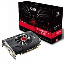 PLACA DE VÍDEO RX 550 4GB DDR5 128BITS XFX