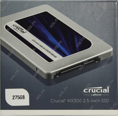 SSD 275GB CRUCIAL 530MB/S