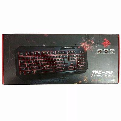 TECLADO HOOPSON 7 LEDS TPC-045