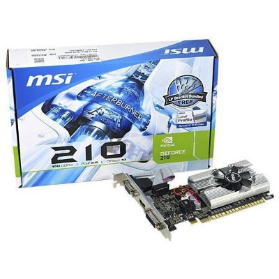 PLACA DE VÍDEO 210 1GB DDR3 64BITS MSI