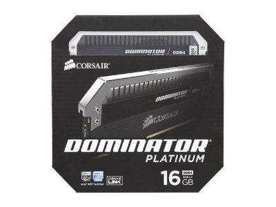 MEMÓRIA 2X8GB DDR4 2666MHZ CORSAIR DOMINATOR PLATINUM