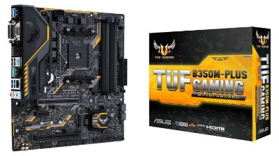 PLACA MÃE B350M-PLUS SOCKET AM4 ASUS