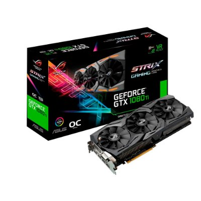 PLACA DE VÍDEO GTX 1080TI 11GB GDDR5 352BITS ASUS STRIX