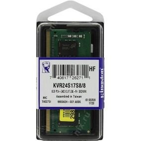 MEMÓRIA 8GB DDR4 2400MHZ KINGSTON - NOTEBOOK