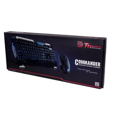 KIT MOUSE TECLADO THERMALTAKE COMMANDER