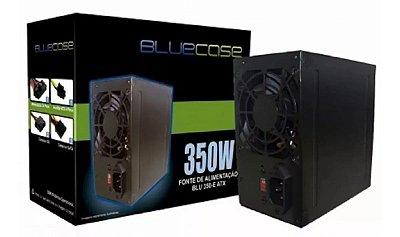 FONTE DE ALIMENTAÇÃO ATX 350W BLUECASE - BLU350ECASE
