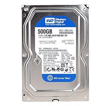 DISCO RÍGIDO 500GB SATA III WD 7200RPM