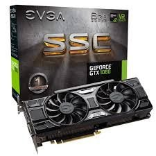 PLACA DE VÍDEO GTX 1060 6GB DDR5 192BITS EVGA