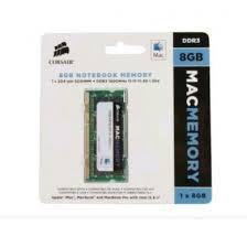 MEMÓRIA CORSAIR MAC MEMORY 8GB 1600MHZ DDR3L, CMSA8GX3M1A1600C11