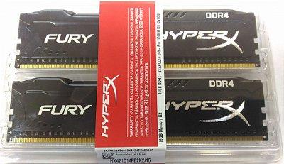 MEMÓRIA 2X8GB DDR4 2133MHZ HYPERX FURY