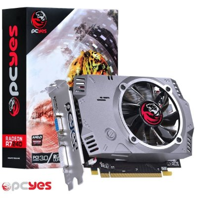 PLACA DE VÍDEO R7 240 2GB DDR5 128BITS PCYES