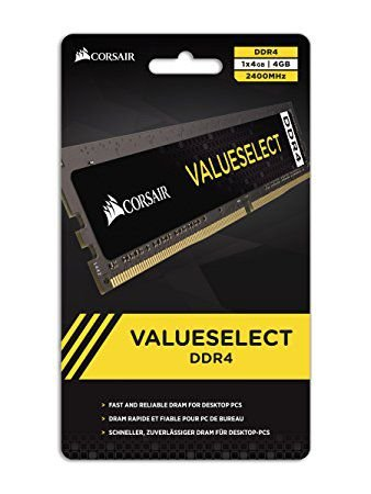MEMÓRIA 4GB DDR4 2666MHZ CORSAIR VALUE