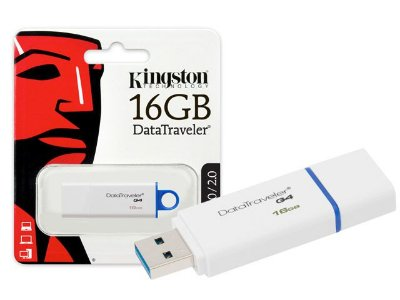 PEN DRIVE KINGSTON 16GB - USB 3.0