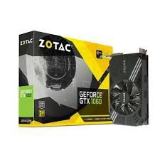 PLACA DE VÍDEO GTX 1060 3GB DDR5 192BITS ZOTAC