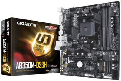 PLACA MÃE AB350M-DS3H SOCKET AM4 GIGABYTE