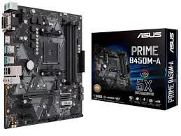 PLACA MÃE ASUS PRIME B450M-A, AMD AM4, 32GB/s M.2, DDR4