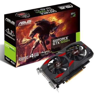 PLACA DE VÍDEO ASUS GEFORCE GTX 1050TI OC 4GB