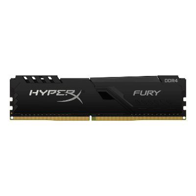 MEMORIA KINGSTON HYPERX FURY 8GB 2666MHZ, DDR4, PRETA