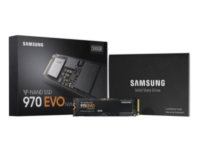 SSD M.2 NVME SAMSUNG 970 EVO 500GB