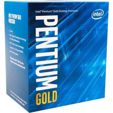 Processador Intel Pentium Gold G5500 Coffee Lake 8a Geração, Cache 4MB, 3.8Ghz, LGA 1151 Intel HD Graphics 630