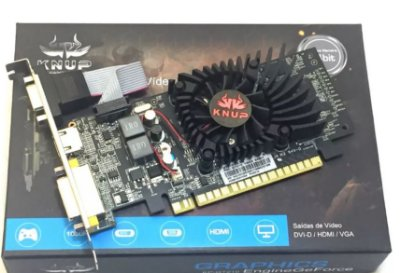 PLACA DE VIDEO GT 210 1GB DDR3 64BITS KNUP