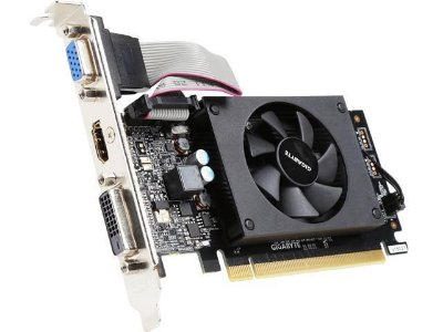 PLACA DE VIDEO GIGABYTE GEFORCE GT 710 1GB GDDR3, 64BIT