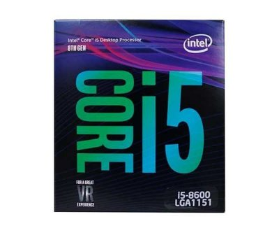 PROCESSADOR INTEL CORE I5-8600 COFFEE LAKE LGA 1151 3.1GHZ 9MB CACHE