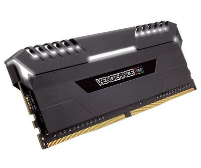 MEMORIA CORSAIR VENGEANCE RGB 16GB (2X8) 3200MHZ DDR4