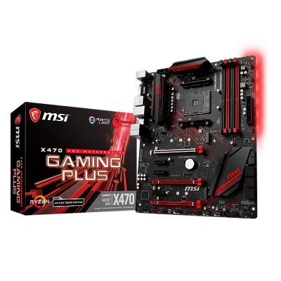 PLACA MAE MSI X470 GAMING PLUS SOCKET AM4, CHIPSET AMD X470