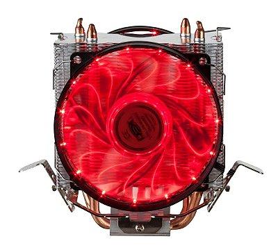 COOLER PARA PROCESSADOR DX-9115D VERMELHO
