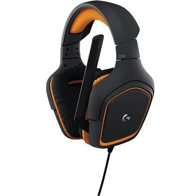 HEADSET GAMER LOGITECH G231 PRODIGY XBOXONE/PS4/PC PRETO/LARANJA