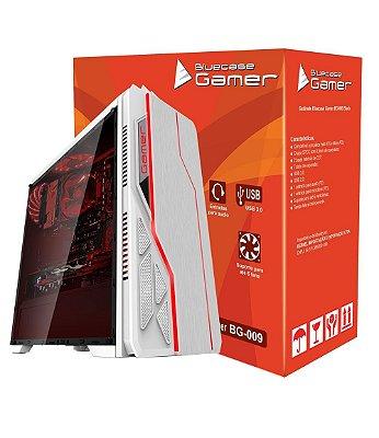 GABINETE GAMER BLUECASE BG-009 BRANCO