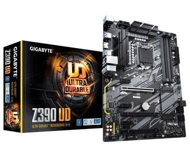 KIT UPGRADE GIGABYTE Z390UD + PROCESSADOR CORE I9 9900K + 16GB DDR4 3000MHZ CORSAIR