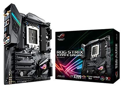 PLACA MÃE ASUS ROG STRIX X399-E GAMING, AMD TR4