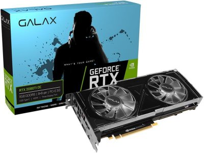 PLACA DE VIDEO GALAX GEFORCE RTX 2080TI 11GB OC GDDR6 352BIT