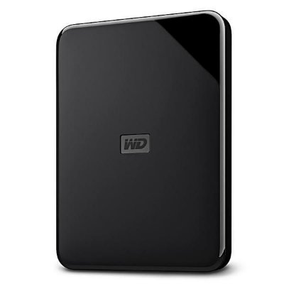 HD EXTERNO WD ELEMENTS SE 2TB USB 3.0 - Preto