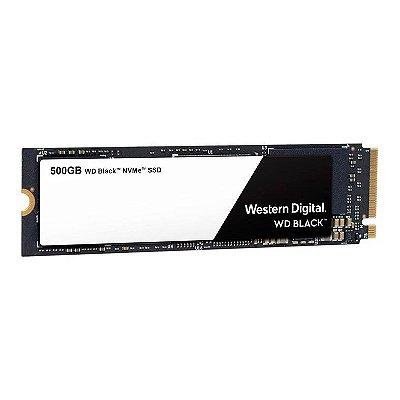 SSD M.2 NVME 500GB WD BLACK WESTERN DIGITAL - WDS500G2X0C