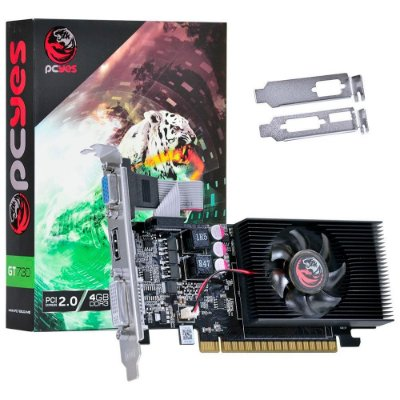 Placa de Vídeo GeForce GT 730 4GB DDR3 PCYes NVIDIA - PW730GT12804D3LP