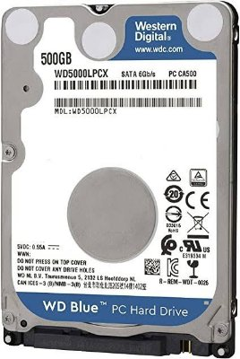 HD Notebook 500GB Sata II 7MM Western Digital - WD5000LPCX
