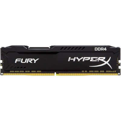Memória Kingston HyperX FURY 16GB 2666Mhz DDR4 Black - HX426C16FB3/16